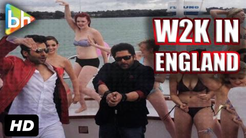 Exclusive:Spectacular 'Welcome 2 Karachi' On Location In Southampton, UK