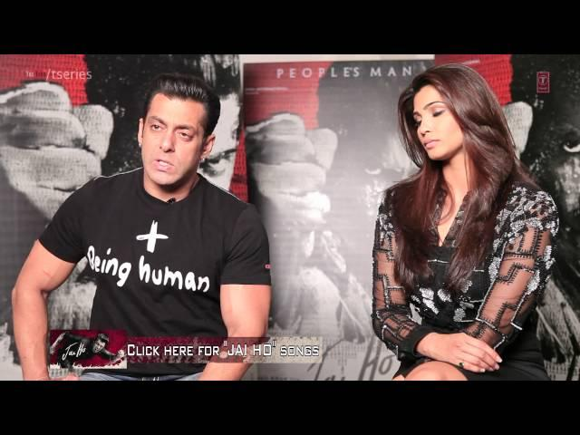 In Conversation with Salman Khan: Jai Ho Movie | Releasing - 24 January 2014