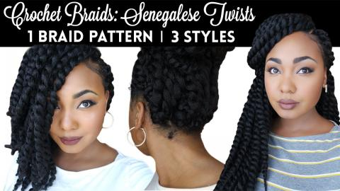 The Best Braid Pattern For Natural Looking & Versatile Crochet Twists