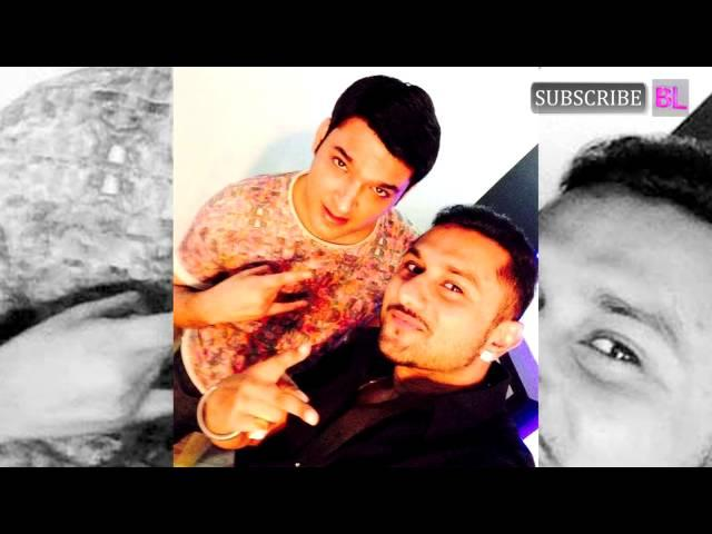 Comedy Nights with Kapil: Yo Yo Honey Singh clicks a selfie with Kapil Sharma