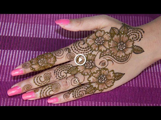 Simple Diy Mehndi Designs : Diy henna design