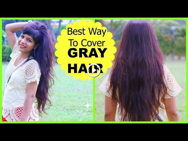 Does Henna Cover Gray Hair: Best Way To Cover GRAY HAIR, How To Mix Henna Mehendi For