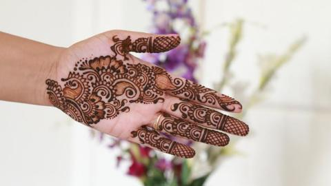 How To: Easy Floral Henna Design | Step By Step Tutorial