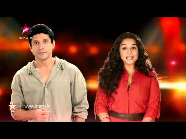 Nach Baliye 6 : Farhan Akhtar and Vidya Balan at the Nach Baliye grand finale!