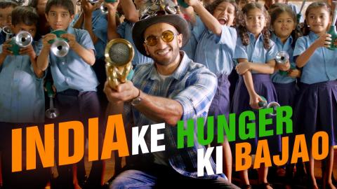 India Ke Hunger Ki Bajao with Ranveer | www.hungerkibajao.com