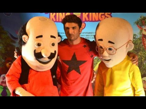 Motu Patlu King Of Kings Movie Music Launch Gulzaar Vishal Bhardwaj
