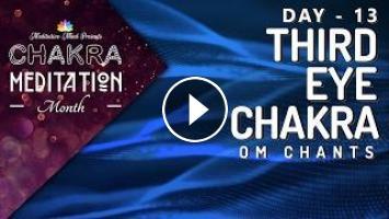 Chakra Seed Mantra Chants | OPEN THIRD EYE CHAKRA 'OM