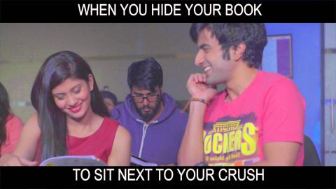 When You Try To Sit Next To Your Crush : Epic Fails | Life Lafde Aur Bandiyan
