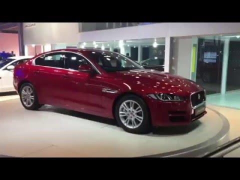 Jaguar XE sedan video: Delhi Auto Expo 2016