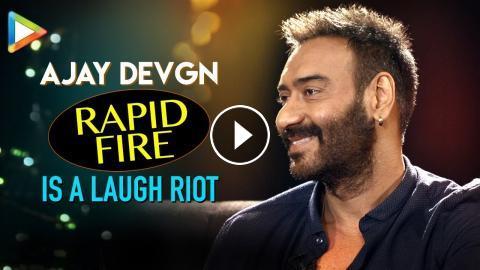 Ajay Devgn's HILARIOUS Questions for Ranveer Singh & Aamir