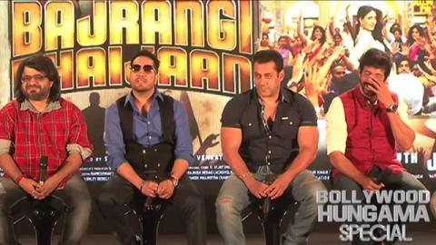 """They're Not Letting Me Sing In Bajrangi Bhaijaan"": Salman Khan"