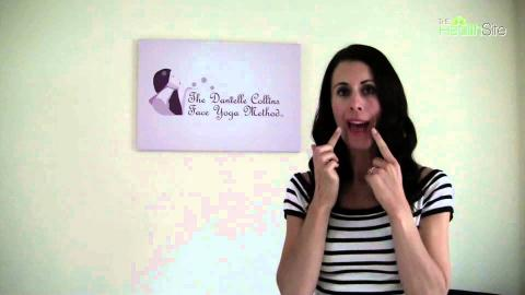 Try this face yoga exercise to maintain that beautiful smile || Danielle Collins