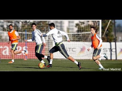 Real Madrid begin preparations for the match against Éibar