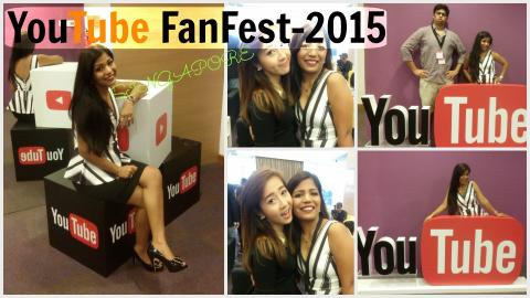 YouTube FanFest Singapore - 2015 | Amazing Time with Bubzbeauty & Youtubers