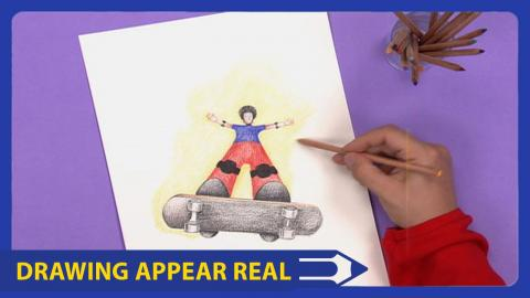 Art attack make your drawing appear real disney india official