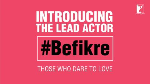 Introducing the LEAD ACTOR of Aditya Chopra's #Befikre