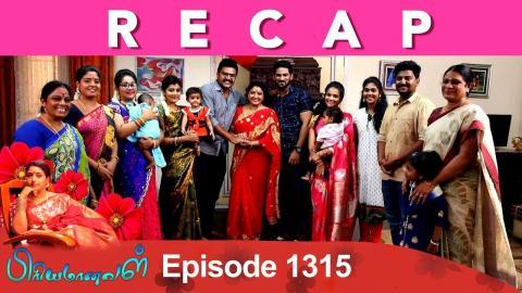 Priyamanaval Episode 1315, 11/05/19
