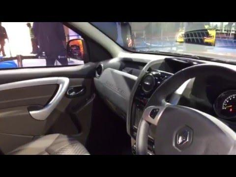 Renault Duster Interior Video: Delhi Auto Expo 2016