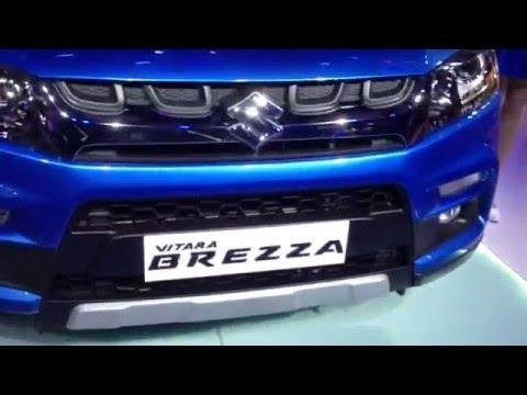 Maruti Vitara Brezza: First Look Video