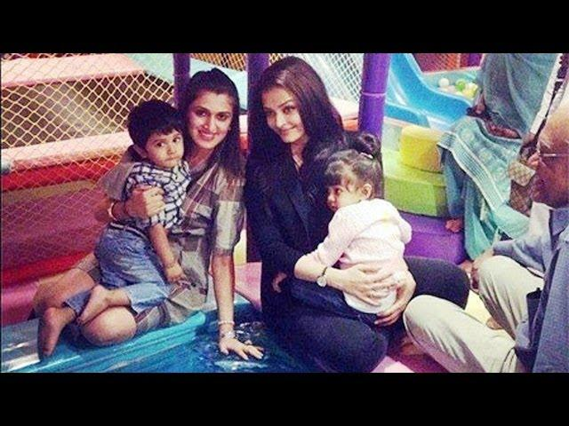 Aaradhya's day out with mummy Aishwarya Rai Bachchan
